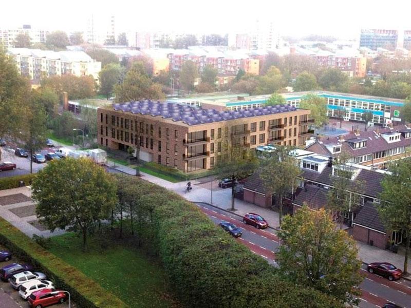 Vastbouw - Appartemententcomplex Haarlem